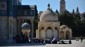 Al-Haram Al-Sharif, or the Temple Mount