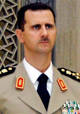 Assad's goal was destroying Israel: Now look at him!!
