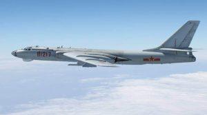 Chinese military H-6 bomber