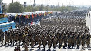 Iranian army about to meet God's battle ax