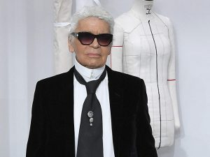 Karl Lagerfeld, Director of the House of Chanel