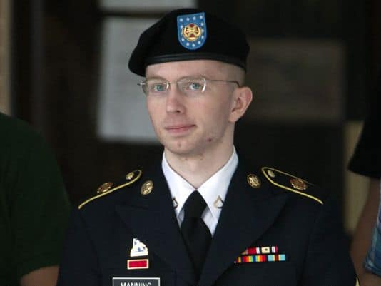 Bradley Manning declares he is a woman and want to be called Chelsea