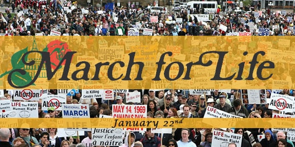 The 2013 Massive March For Life