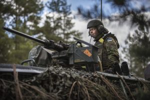 NATO troop exercise in Estonia