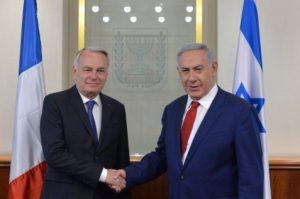 Netanyahu meets with Jean-Marc Ayrault