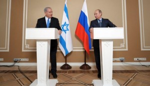 Netanyahu and Putin meeting over Russian missiles to Syria