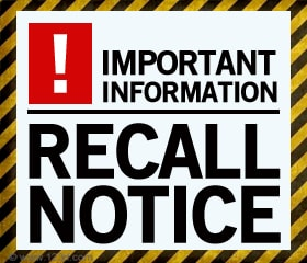 Sharing The Faith: Recall Notice - use this ministry tool ...