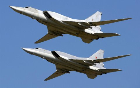 Russian Tupolev Backfire Heavy Bombers