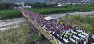 Venezuelan border crossing