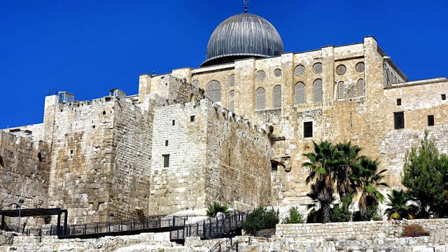 Al-Aqsa Mosque is not the Dome of the Rock.