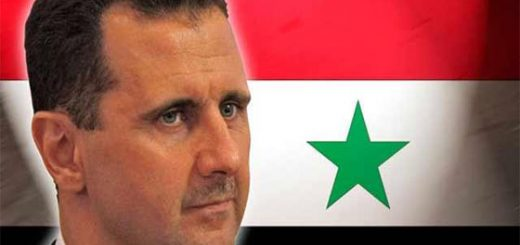 Bashar Assad being called coward for not attacking Israel.