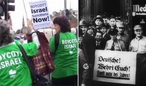 Boycotting products made by Jews, now, and then