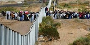 America tampered with Israel's border and now America can't defend its border.