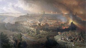 The Siege and Destruction of Jerusalem, by David Roberts, 1850