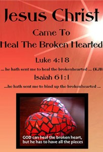 The Brochure for Winning the Brokenhearted to Jesus Christ