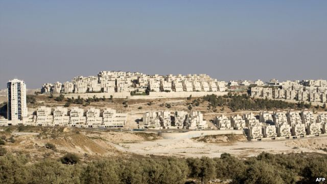Building in East Jerusalem which has the world upset
