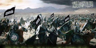 Caliphate in action under the black flag