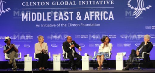 Panel inaugural de Clinton Global Initiative Moyen-Orient-Afrique