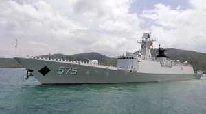 Chinese missile frigate