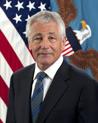 Sec of Defense Hagel now talking tough with Chinese.