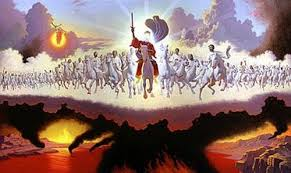 Day of the LORD with Jesus Christ returning with the Clouds of Heaven