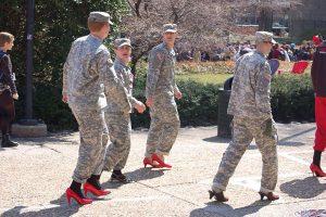 feminization of military