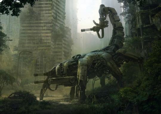 giant robot ed