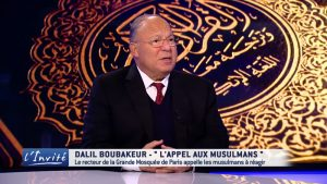 "Dalil Boubakeur, rector of the Grand Mosque of Paris, last year called for the conversion of churches into mosques and asked to ""double"" the number of mosques in France"