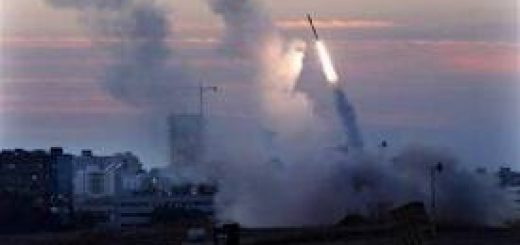 Hamas firing missile: The type it fired at Jerusalem