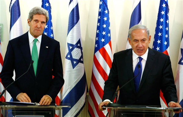 When Kerry meets with Netanyahu, disasters hit America.