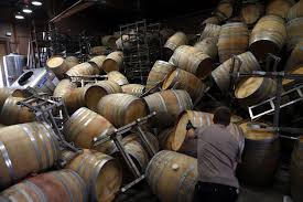 Massive destruction wineries