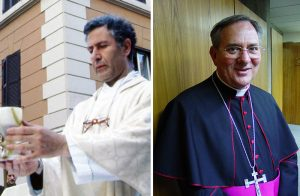Father Andrea Santoro (left), a 61-year-old Roman Catholic priest, and 63-year-old Bishop Luigi Padovese (right), Apostolic Vicar of Anatolia, were two Christian priests murdered in Turkey in recent years