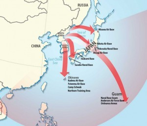 Range of North Korean Missiles