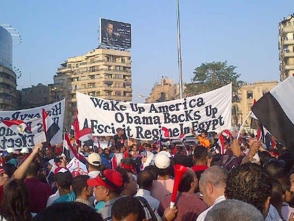 This sign is the truth and the Egyptians are telling the world.