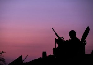 Soldiers take part in Operation Protective Edge