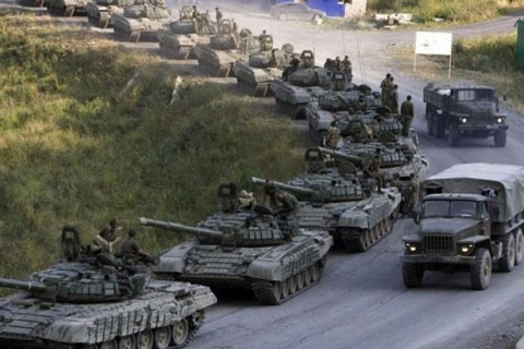 Russian Army mobilizing for war with the Ukraine