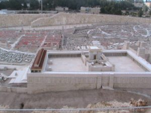 Model of the Second Temple at the Israel Museum