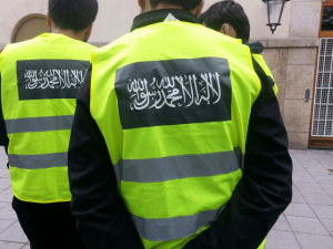 Sharia patrol in Germany