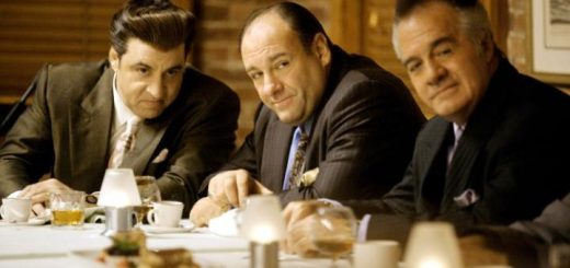Tony Soprano, centre, played by James Gandolfini in The Sopranos, showed a number of psychopathic tendencies