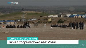 At the Bashiqa camp in northern Iraq, a few hundred Turkish soldiers have been training Sunni militias to help retake Mosul from ISIS. Iraq's government wants the Turkish troops out, but Turkey refuses to withdraw them