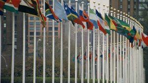 UN members' flags